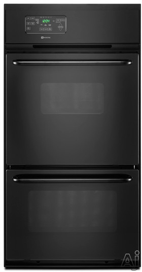 "Maytag CWG3600AAB 24"" Single Gas Wall Oven with 2.7 cu. ft. Upper Oven, 1.3 cu. ft. Lower Broiler, U.S. & Canada CWG3600AAB"