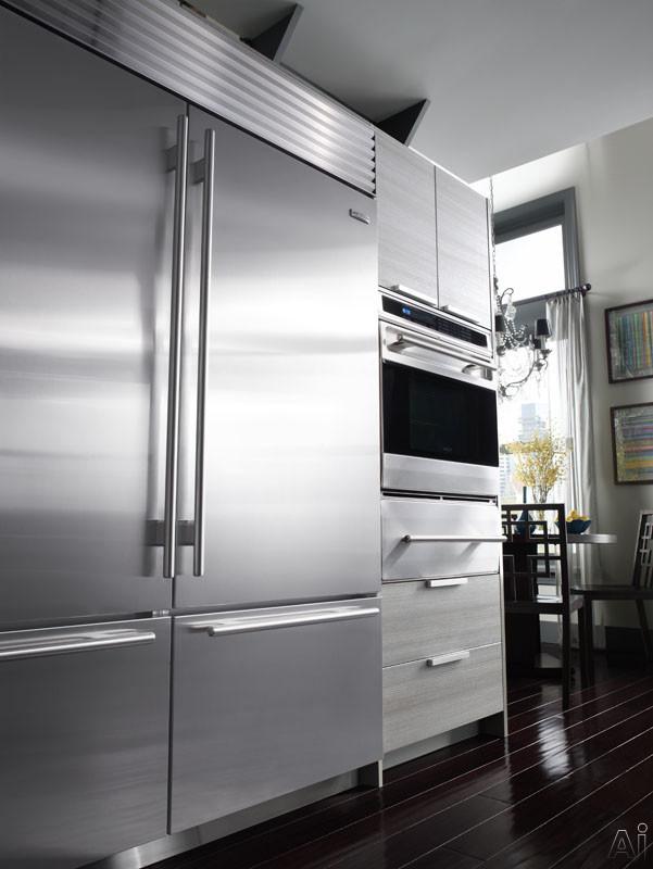 Sub Zero Bi30uo 30 Built In Bottom Freezer Refrigerator