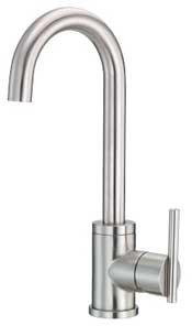 Danze® Parma™ Collection D155058SS Single Handle Bar Cast Spout Faucet with 13-1/16