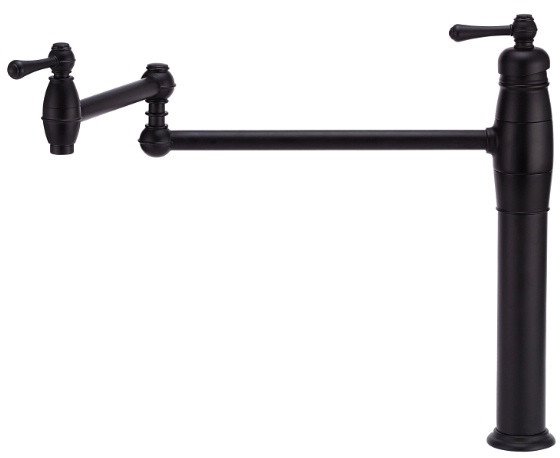 "Danze┬χ OpulenceέΕλ Collection D206557BS Single Lever Wall Mount Pot Filler Faucet with 21"" Reach, U.S. & Canada D206557BS"