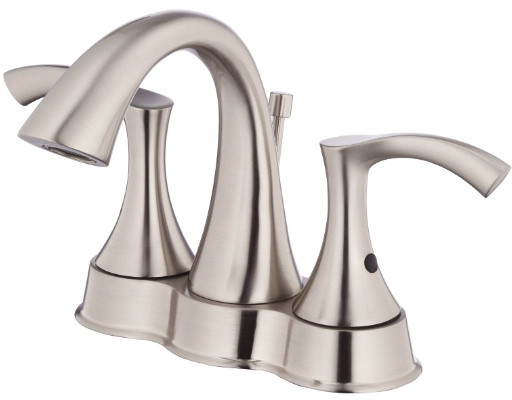 "Danze┬χ AntiochέΕλ Collection D301022BN Double Lever Centerset Lavatory Faucet with 4 1 / 2"" Reach, U.S. & Canada D301022BN"