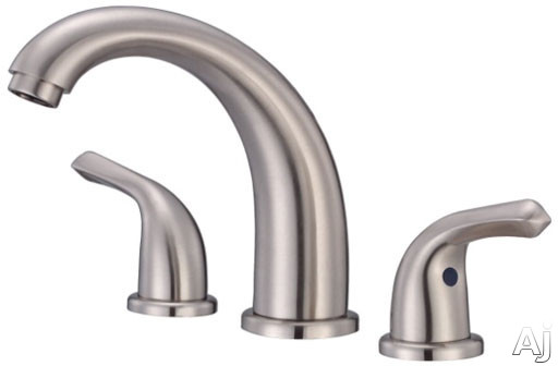 "Danze┬χ MelroseέΕλ Collection D304012BN Double Lever Widespread Lavatory Faucet with 5-3 / 4"" Reach, U.S. & Canada D304012BN"