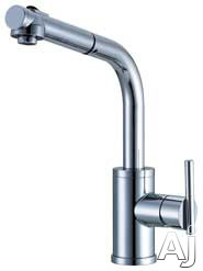 Danze┬χ ParmaέΕλ Collection D404558 Single Handle Kitchen Pull-Out Faucet with 2 Function Spray /, U.S. & Canada D404558