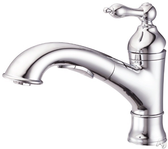 """Danze┬χ FairmontέΕλ Collection D455040 Single Handle Pull-Out Kitchen Faucet with 6 3 / 4"""" High, U.S. & Canada D455040"""