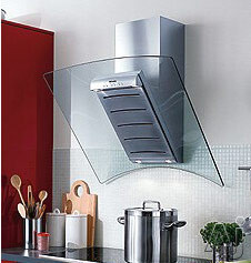 "Miele DA2894 36"" Wall Mounted Ventilation Hood With 625 CFM Internal Blower Integrated Halogen Lighting And Front Mounted Controls"