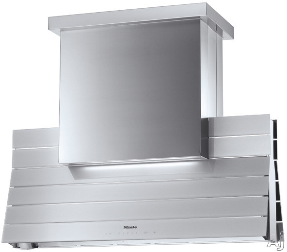 "Miele DA5000DSS 44"" Island Mount Range Hood with 1250 CFM Internal Dual Blowers, 3 Fan Speeds Plus, U.S. & Canada DA5000DSS"