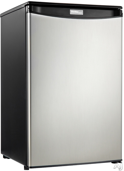 Danby Designer Series DAR044A1 4.4 cu. ft. Compact All-Refrigerator with Slide-Out Shelves, Cycle, U.S. & Canada DAR044A1