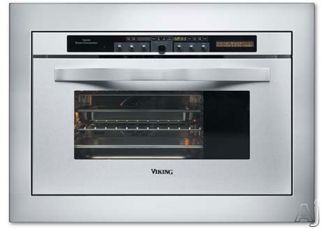 Viking DCSO244SS Single Combi Steam/Convection Oven with 1.1 cu. ft ...