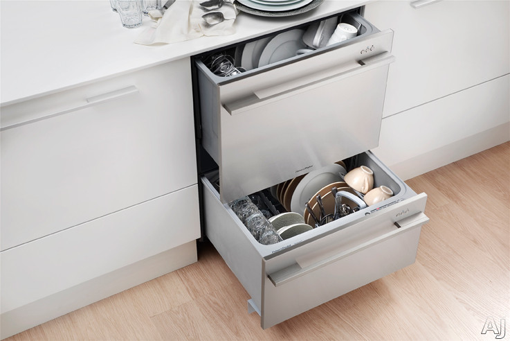 Fisher Amp Paykel Dd24dctb7 Semi Integrated Double