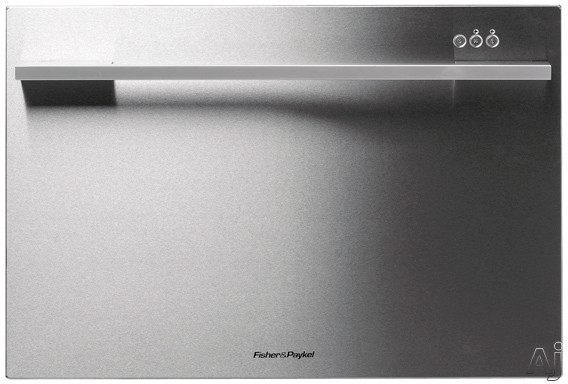 Fisher Paykel DishDrawer Series DD24SDFX7 Semi Integrated Single DishDrawer with Sanitize Express Eco Option Delay Start 7 Place Settings 9 Cycles Adjustable Racks ADA Compliant and Energy Star Rated