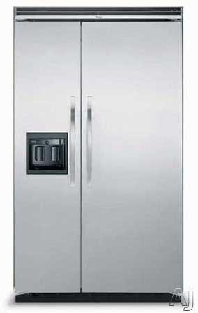Viking Ddsb483d 48 Inch Built In Side By Side Refrigerator