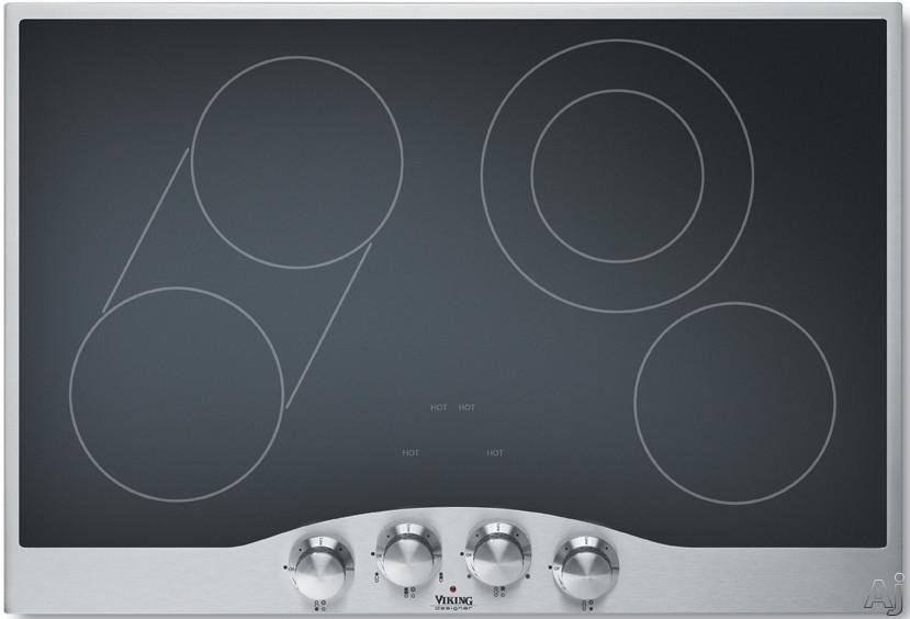 Viking Electric Cooktop ~ Viking designer decu bsb quot smoothtop electric cooktop