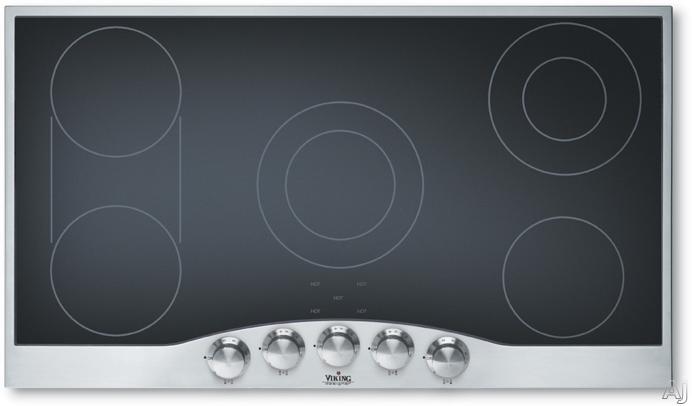 Viking Decu1665bsb 36 Smoothtop Electric Cooktop With 5