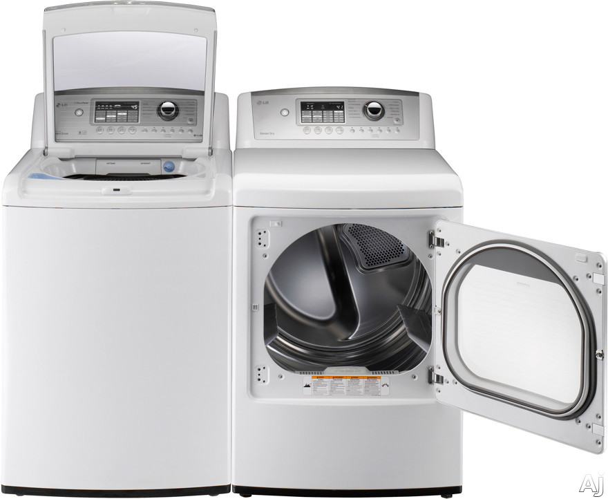Lg Dryer Manufacturer Warranty ~ Lg dle w quot electric dryer with cu ft ultra