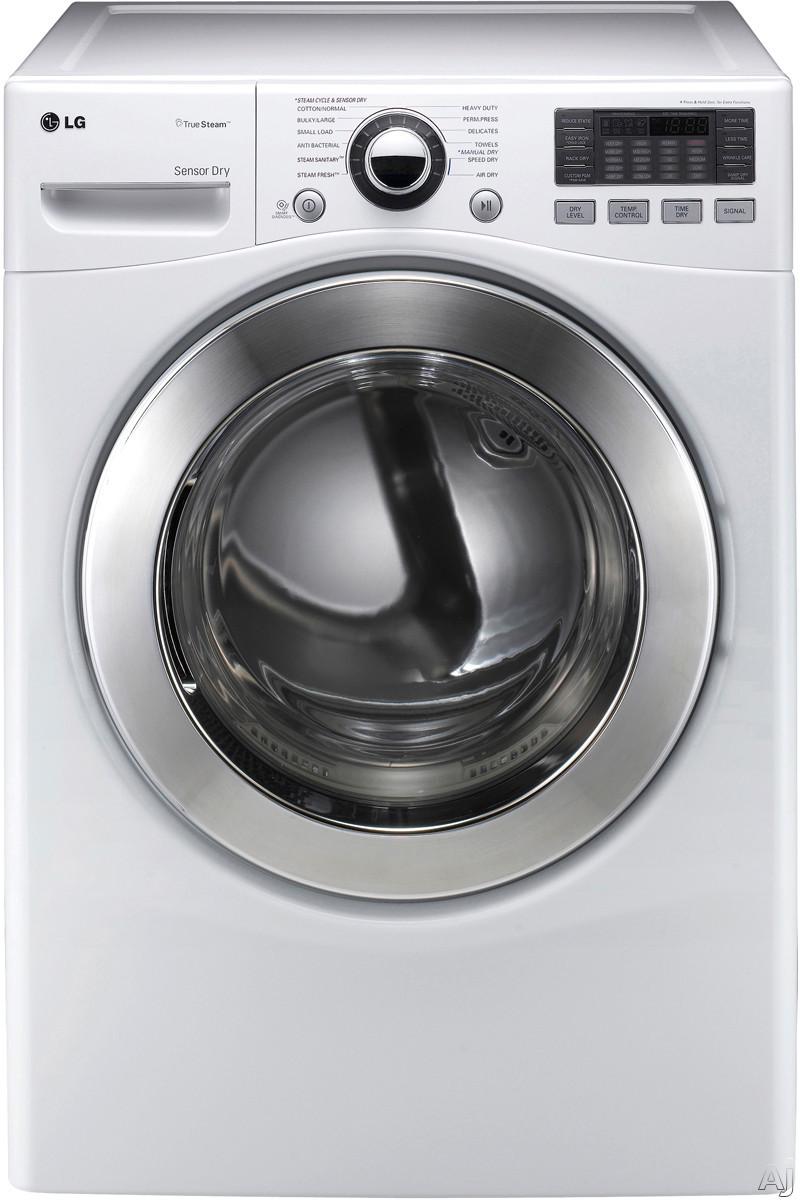 "LG SteamDryer Series DLGX3071 27"" Gas Dryer with 7.3 cu. ft. Capacity, 12 Dry Cycles, 10 Options, U.S. & Canada DLGX3071"