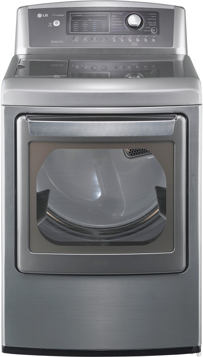 "LG SteamDryer Series DLEX5170 27"" Electric Dryer with 7.3 cu. ft. Capacity, 14 Dry Cycles, 9, U.S. & Canada DLEX5170"