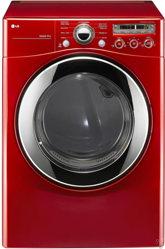 "LG DLG2351 27"" Gas Dryer with 7.3 cu. ft. Capacity, 9 Dry Programs, Sensor Dry, SmartDiagnosis, U.S. & Canada DLG2351"