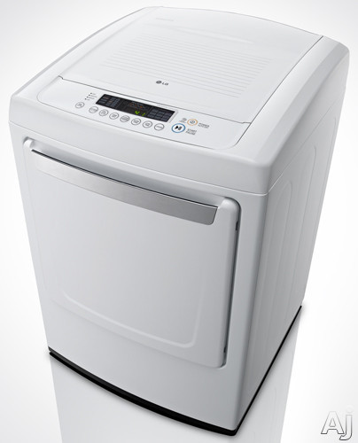 """LG DLG1102W 27"""" 7.4 Cu. Ft. Gas Dryer With 9 Drying"""