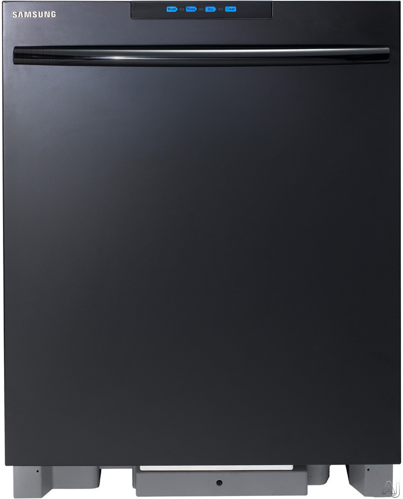 Samsung DMT800RHB Semi-Integrated Dishwasher with 6 Wash Cycles, Adjustable Nylon Racks, Tall Tub, U.S. & Canada DMT800RHB