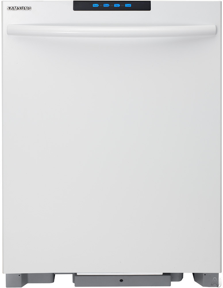 Samsung DMT800RHW Semi-Integrated Dishwasher with 6 Wash Cycles, Adjustable Nylon Racks, Tall Tub, U.S. & Canada DMT800RHW