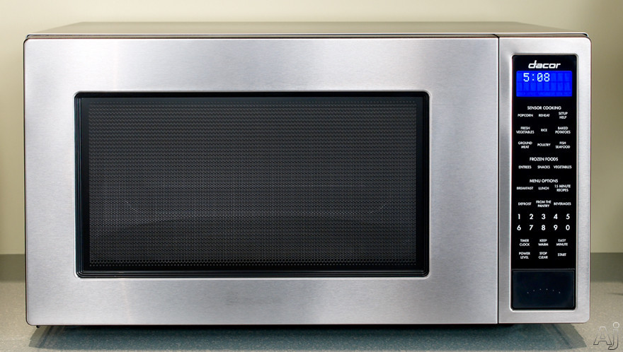 Dacor dmw2420s 2 0 cu ft countertop micrwave oven with for Decor microwave