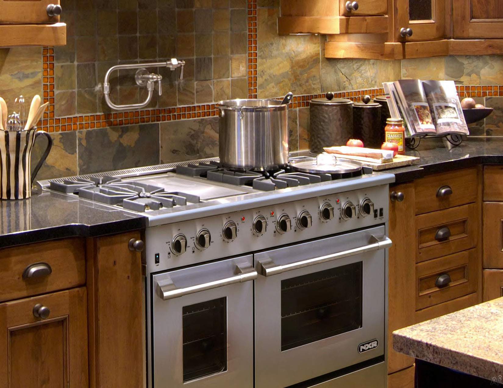 Nxr Drgb4801lp 48 Quot Pro Style Gas Range With 6 Sealed