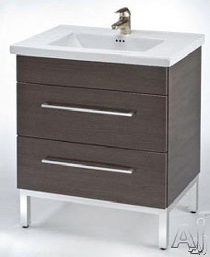 """Empire Industries Daytona Collection DS3002TGS 30"""" Contemporary Vanity with 2 Drawers, BLUM Hinges, U.S. & Canada DS3002TGS"""