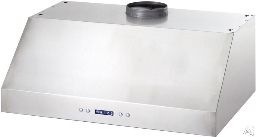 Danby Silhouette Series DURH361SSSL Under Cabinet Range Hood with 450 CFM Internal Blower, 3.6, U.S. & Canada DURH361SSSL