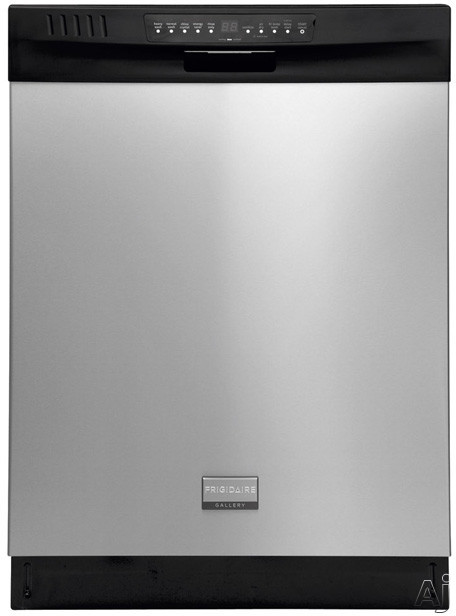 Frigidaire Gallery Series FGHD2455LF Full Console Dishwasher with 5 Cycles Including Energy Saver, U.S. & Canada FGHD2455LF