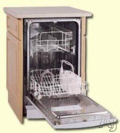 Avanti Dw18 18 Full Console Dishwasher With 7 Automatic Cycles Stainless Steel Interior And