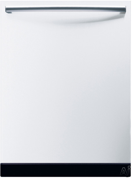 Bosch Platinum 4 - Bosch Integra 500 Series SHX45M01UC Fully Integrated Dishwasher With 4 Wash Cycles Platinum Mid Racks 19 Hours Delay Start And Silence Rating Of 51 DB White