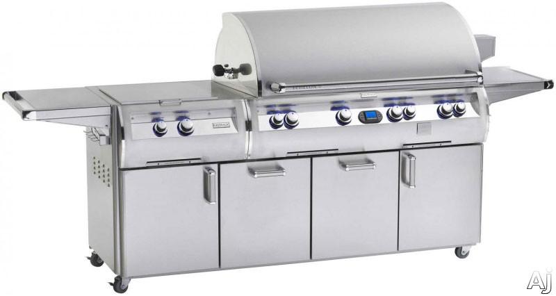 """Fire Magic Echelon Collection E1060S4E151 111"""" Freestanding Gas Grill with 1056 sq. in. Cooking, U.S. & Canada E1060S4E151"""