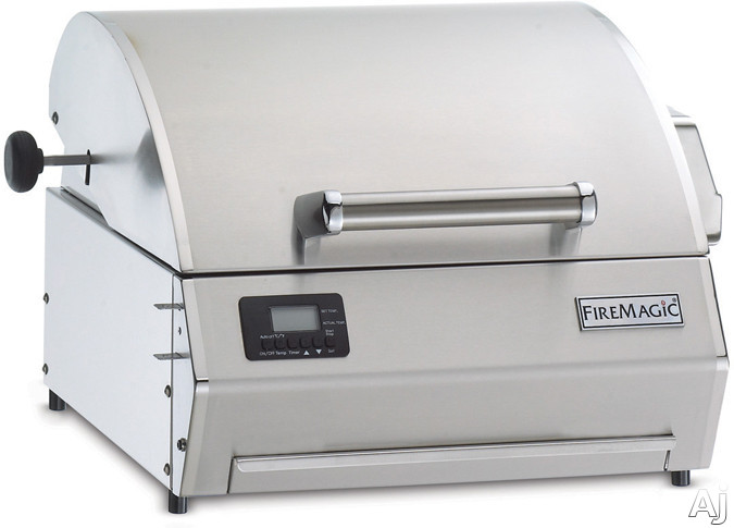 """Fire Magic E250T1Z1E 19"""" Electric Table Top Grill with 252 sq. in. Cooking Area, Large Heating, U.S. & Canada E250T1Z1E"""