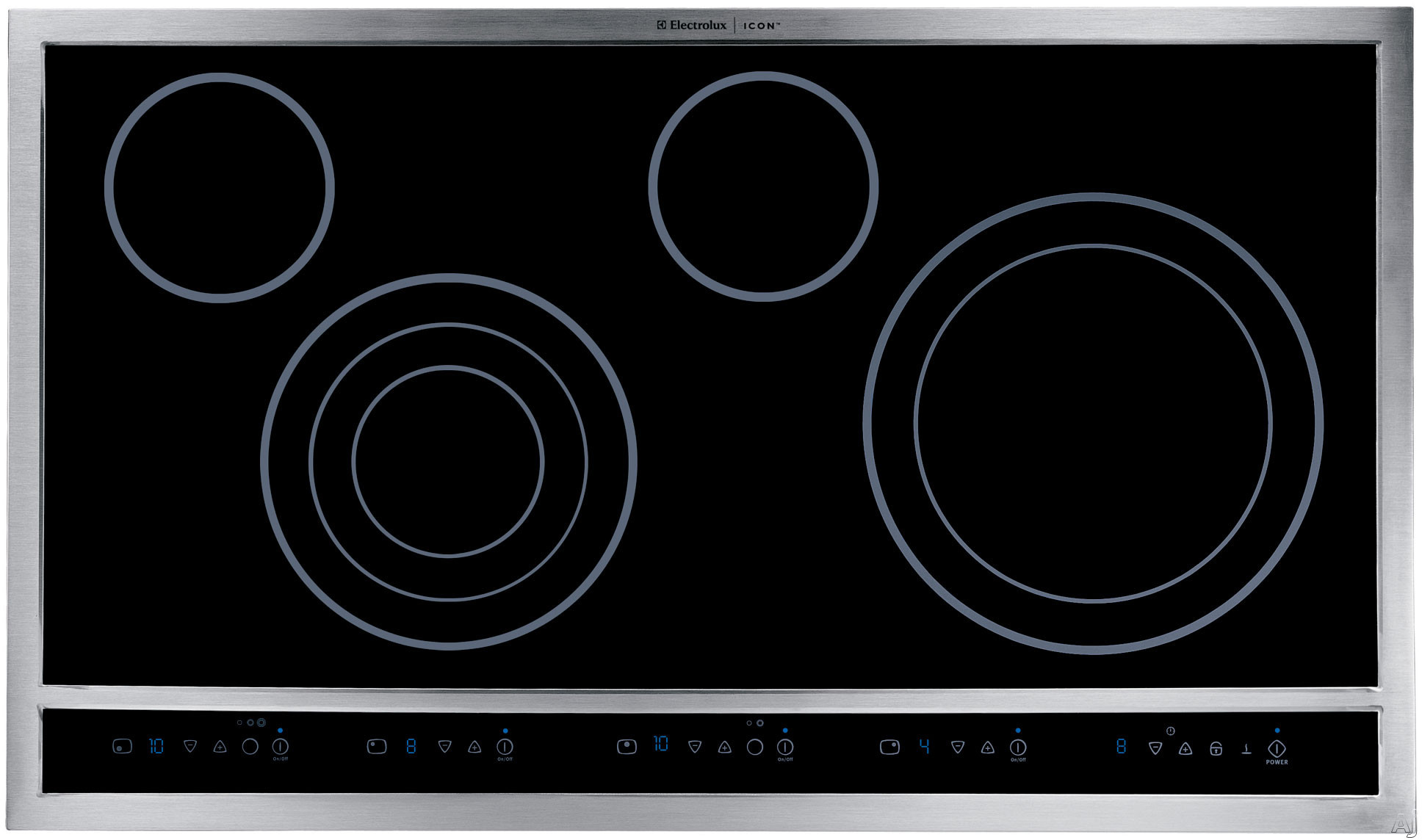 Electrolux E30EC70FSS 30 Inch Drop In Electric Cooktop with Expandable Flexib