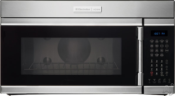 Electrolux ICON Professional E30MH65GPS 1.6 cu. ft. Over-the-Range Microwave with 300 CFM 5-Speed Ventilation System, 950 Convection Cooking Watts, Automatic/Se