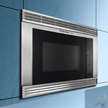 Electrolux e30mo65gss 30 inch built in microwave oven with for Built in microwave ovens 30 inch