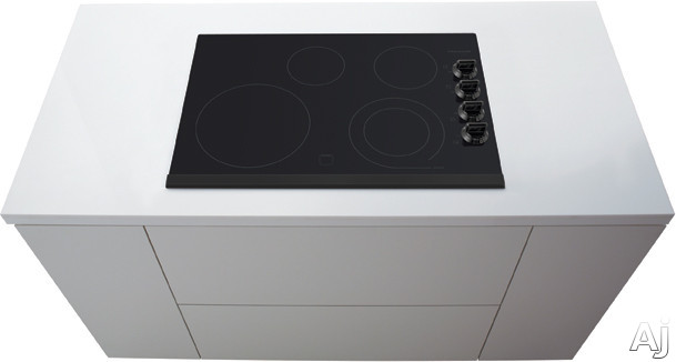 Frigidaire Gallery Series FGEC3045KB 30 Inch Electric Cooktop with 4 Heating Zones, SpaceWise Expandable 6 Inch/9 Inch Heating Zone, Ceramic Glass Construction, Express-Select Controls and Hot Surface