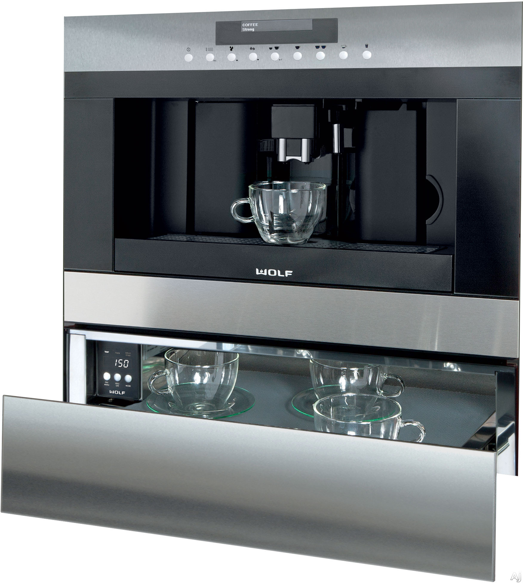 Wolf Ec24 24 Built In Coffee System With Adjustable