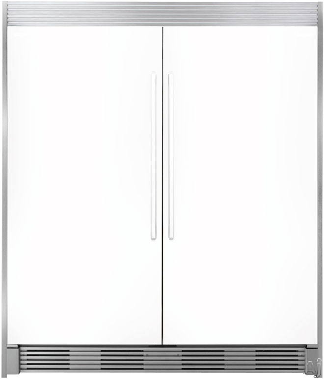 """Electrolux ECP8472SS 84"""" Tall Stainless Steel Double Louvered Trim Kit, U.S. & Canada ECP8472SS"""