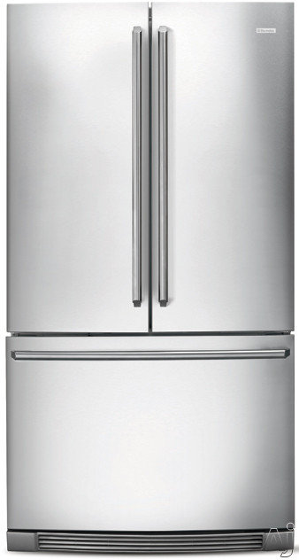 Electrolux EI23BC30KS 36 Inch Counter Depth French Door Refrigerator with 22.6 cu. ft. Capacity, SpillSafe Shelving, Gallon Storage, Cool Zone Drawer, Humidity Crisper Drawers, PureAdvantage Filtration, Star-K Certified Sabbath Mode, ENERGY STAR and Ice