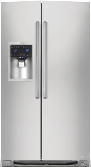 Electrolux IQ-Touch Series EI23CS35KS 22.6 cu. ft. Counter-Depth Side by Side Refrigerator with, U.S. & Canada EI23CS35KS