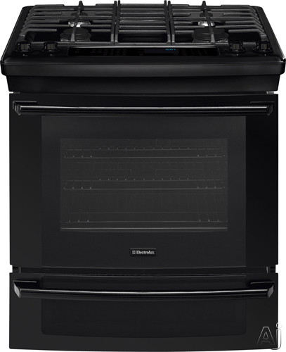 "Electrolux IQ-Touch Series EI30GS55LB 30"" Slide-in Gas Range with 4 Sealed Burners, 4.2 cu. ft., U.S. & Canada EI30GS55LB"