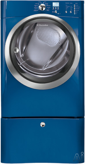 """Laundry - Electrolux EIED55HMB 27"""" Electric Dryer With 8.0 Cu Ft Capacity 11 Dry Cycles Gentle Tumble Luxury-Dry System Touch-2-Open Reversible Door Moisture Senso"""