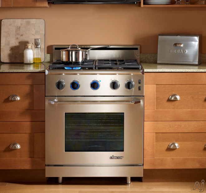 "Dacor Renaissance ER30GISCHLP 30"" Freestanding Gas Range with 4.0 cu. ft. Manual Clean Oven, U.S. & Canada ER30GISCHLP"