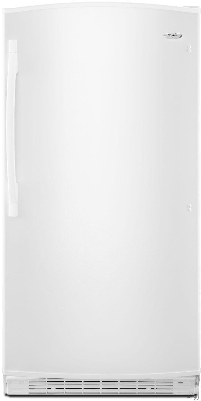Whirlpool EV160NZTQ 15.8 cu. ft. Upright Freezer with 3 Wire Shelves, Frost-Free Defrost, Fast, U.S. & Canada EV160NZTQ