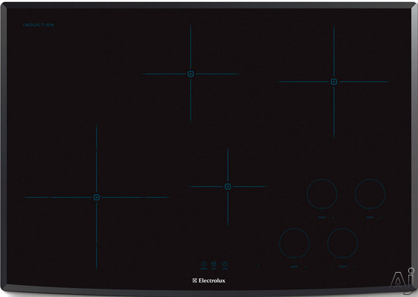 Electrolux EW30IC60LB 30 Inch Induction Cooktop with 4 Cooking Zones, Cookware Compatibility, Keep Warm Setting, Perfect Set Controls and ADA Compliant: Black