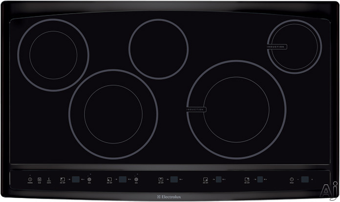 Electrolux Ew36cc55gb 36 Quot Hybrid Induction Cooktop With 2