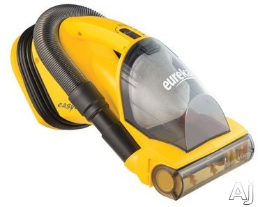 Eureka 71B Easy Clean Hand Vacuum Cleaner with 2-Motor System, Standard Filtration, Easy Empty Dust Cup, Riser Visor and 20 ft. Power Cord