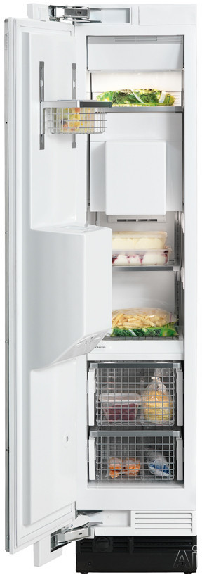 "Miele Independence Series F1471 18"" Built-in Fully Integrated All-Freezer with 8.0 cu. ft. Capacity, U.S. & Canada F1471"
