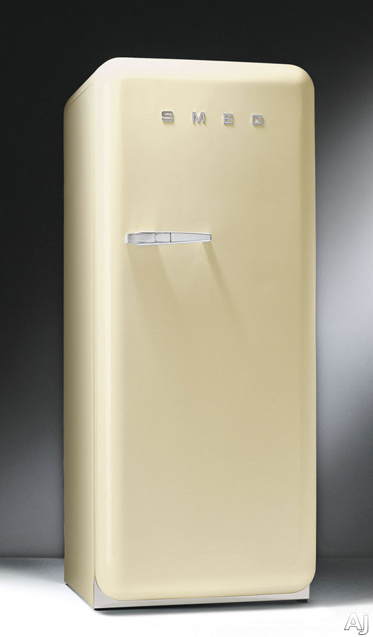 Smeg FAB28UP 9.22 cu. ft. 50's Style Refrigerator with Antibacterial Interior, Ice Compartment and, U.S. & Canada FAB28UP